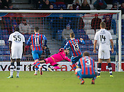 Dundee keeper Scott Bain saves Inverness' Billy McKay's [enalty - Inverness Caledonian Thistle v Dundee in the Ladbrokes Scottish Premiership at Caledonian Stadium, Inverness.Photo: David Young<br /> <br />  - © David Young - www.davidyoungphoto.co.uk - email: davidyoungphoto@gmail.com