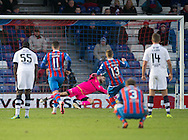 Dundee keeper Scott Bain saves Inverness' Billy McKay's [enalty - Inverness Caledonian Thistle v Dundee in the Ladbrokes Scottish Premiership at Caledonian Stadium, Inverness.Photo: David Young<br /> <br />  - &copy; David Young - www.davidyoungphoto.co.uk - email: davidyoungphoto@gmail.com