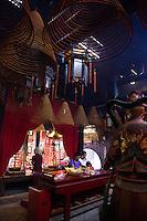Inside Tin Hau Temple, Hong Kong
