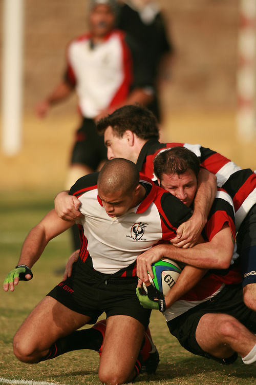 Cairo, Egypt - Rugby in Cairo, Egypt.  Photo by Wally Nell/ZUMA Press