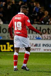 Kieran Agard of Bristol City looks on - Photo mandatory by-line: Rogan Thomson/JMP - 07966 386802 - 28/11/2014 - SPORT - FOOTBALL - Peterborough, England - ABAX Stadium - Peterborough United v Bristol City - Sky Bet League 1.