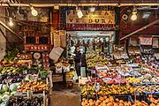 Palermo, street shop in the Vucciria Neighborhood