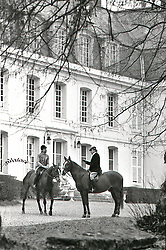 Business on Horseback, France