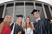 17716Undergraduate Commencement 2006.....Taylor Sanders, Crystal Dangler, Christy Daniels, Paul Ruksanas