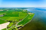 Nederland, Friesland, Súdwest-Fryslân, 07-05-2018; Laaxum (Laaksum), buurtschap in Gaasterland, met kleinste haventje van Friesland.<br /> Hamlet in Gaasterland, with smallest harbor in Friesland.<br /> <br /> luchtfoto (toeslag op standard tarieven);<br /> aerial photo (additional fee required);<br /> copyright foto/photo Siebe Swart