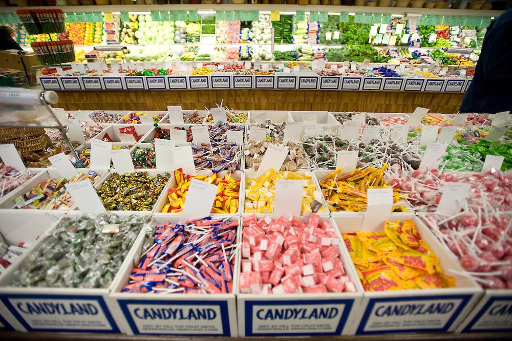 Candyland at Hilltop Fruit Market, Grantsville MD