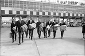 1964 - The Capitol Showband leave for Germany from Dublin Airport