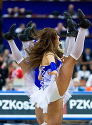 Lithuanian cheerleaders Zalgiris during the EuroBasket 2009 3rd place match between Slovenia and Greece, on September 20, 2009, in Arena Spodek, Katowice, Poland.   (Photo by Vid Ponikvar / Sportida)