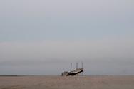 9/27/08 Valentine, NEB.Merritt Reservoir foggy morning.Chris Machian/for the New York Times