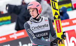 17.03.2019, Vikersundbakken, Vikersund, NOR, FIS Weltcup Skisprung, Raw Air, Vikersund, Einzelbewerb, Herren, im Bild Karl Geiger (GER) // Karl Geiger of Germany during the individual competition of the 4th Stage of the Raw Air Series of FIS Ski Jumping World Cup at the Vikersundbakken in Vikersund, Norway on 2019/03/17. EXPA Pictures © 2019, PhotoCredit: EXPA/ JFK