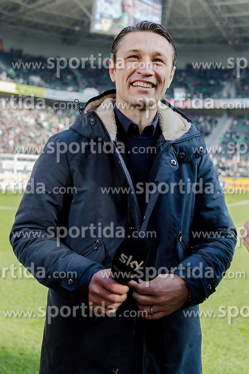12.03.2016, Stadion im Borussia Park, Moenchengladbach, GER, 1. FBL, Borussia Moenchengladbach vs Eintracht Frankfurt, 26. Runde, im Bild Trainer Niko Kovac (Eintracht Frankfurt) // during the German Bundesliga 26th round match between Borussia Moenchengladbach and Eintracht Frankfurt at the Stadion im Borussia Park in Moenchengladbach, Germany on 2016/03/12. EXPA Pictures &copy; 2016, PhotoCredit: EXPA/ Eibner-Pressefoto/ Sch&uuml;ler<br /> <br /> *****ATTENTION - OUT of GER*****