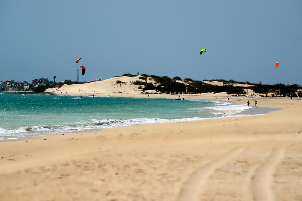 Beach of Carlota. Plage de Carlota.