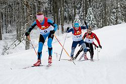 SHYSHKOVA Oksana Guide: NESTERENKO Lada, Biathlon Middle Distance, Oberried, Germany