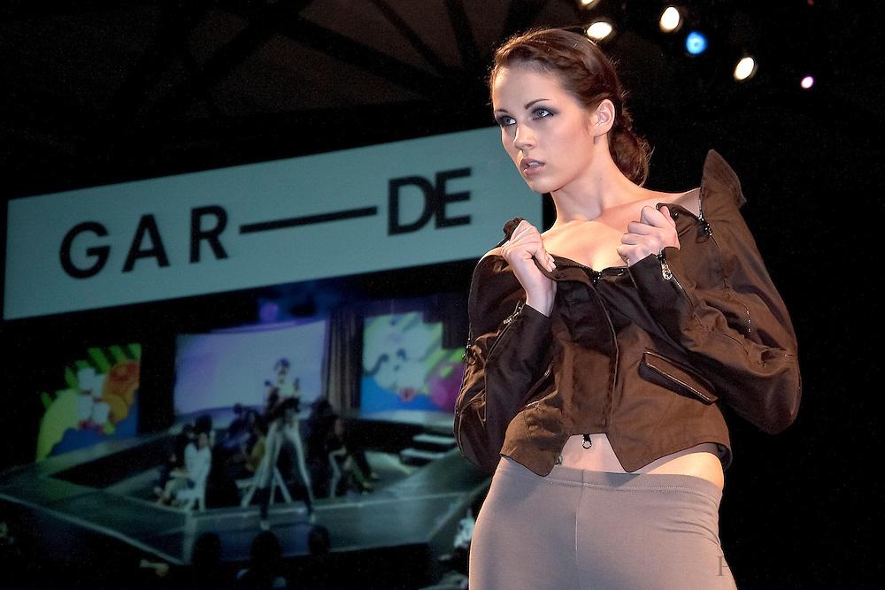 Models from Wilhelmina Models wearing Gar-De walk the runway at the 2009 Philadelphia Fashion Week.