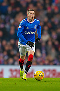Ryan Kent (#14) of Rangers FC during the Ladbrokes Scottish Premiership match between Rangers FC and Heart of Midlothian FC at Ibrox Park, Glasgow, Scotland on 1 December 2019.