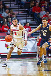 NORMAL, IL - November 29: Ricky Torres during a college basketball game between the ISU Redbirds and the Prairie Stars of University of Illinois Springfield (UIS) on November 29 2019 at Redbird Arena in Normal, IL. (Photo by Alan Look)
