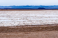 United States, California, near Twentynine Palms. Large salt plain.