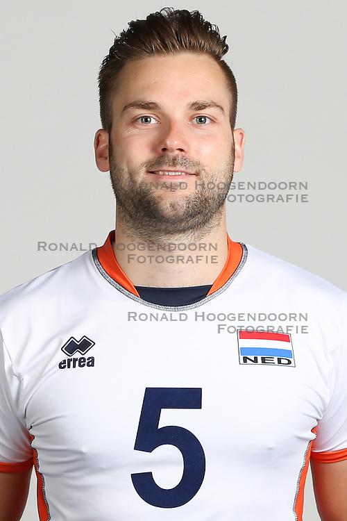 20160516 NED: Selectie Nederlands volleybal team mannen, Arnhem<br />Dirk Sparidans