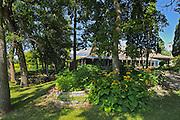 Restaurent  of conservatory in Assiniboine Park <br /> Winnipeg<br /> Manitoba<br /> Canada
