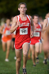 Maryland Terrapins Andrew Abernathy (141)..The Atlantic Coast Conference Cross Country Championships were held at Panorama Farms near Charlottesville, VA on October 27, 2007.  The men raced an 8 kilometer course while the women raced a 6k course.