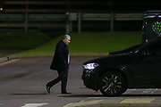 Chairman Anthony Andrew Kleanthous leaving Barnet at Underhill Stadium, London, England on 17 March 2020.