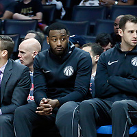 09 December 2017: Washington Wizards guard John Wall (2) is seen on the bench during the LA Clippers 113-112 victory over the Washington Wizards, at the Staples Center, Los Angeles, California, USA.