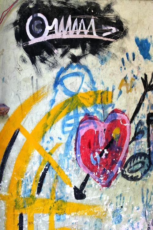 Graffiti in Havana Centro, Cuba.