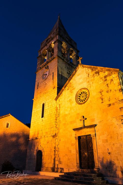 St Stephen's Church, Sipanska Luka, Sipan Island, Dalmatian Coast, Croatia