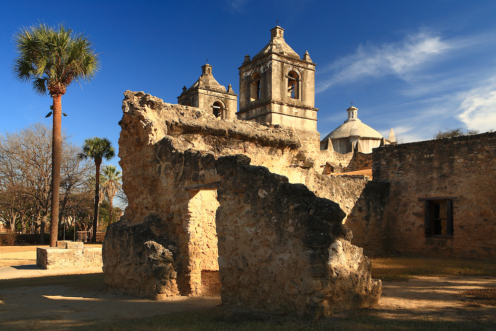 Mission Nuestra Señora de la Purisima Concepción de Acuña (Mission Concepcion). San Antonio Missions National Historical Park.