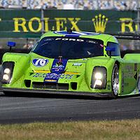 Team Krohn Racing competing at the Rolex 24 at Daytona 2012