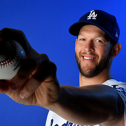 Los Angeles Dodgers' Clayton Kershaw #22 during photo day at Camelback Ranch Stadium on Wednesday, February 20, 2019 in Glendale, Arizona. (Photo by Keith Birmingham, Pasadena Star-News/SCNG)