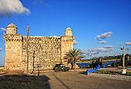Fortress in Playas del Este, Havana, Cuba.