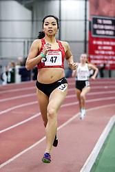 womens 1000 meters, heat 1, Atlanta TC, Megan Malasarte<br /> BU John Terrier Classic <br /> Indoor Track & Field Meet
