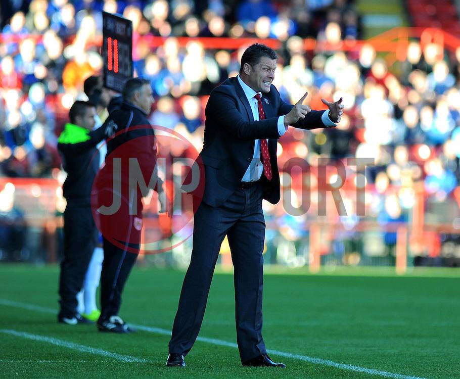 Bristol City manager, Steve Cotterill - Photo mandatory by-line: Dougie Allward/JMP - Mobile: 07966 386802 - 11/10/2014 - SPORT - Football - Bristol - Ashton Gate - Bristol City v Chesterfield - Sky Bet League One