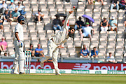 Moeen Ali of England bowling during the 4th day of the 4th SpecSavers International Test Match 2018 match between England and India at the Ageas Bowl, Southampton, United Kingdom on 2 September 2018.