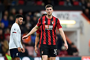 Chris Mepham (33) of AFC Bournemouth during the Premier League match between Bournemouth and Liverpool at the Vitality Stadium, Bournemouth, England on 7 December 2019.