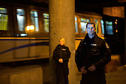Transit Police and Skytrain, Vancouver