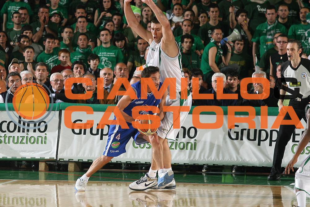 DESCRIZIONE : Avellino Lega A1 2007-08 Playoff Quarti Di Finale Gara 3 Air Avellino Pierrel Capo Orlando<br /> GIOCATORE : Gianmarco Pozzecco <br /> SQUADRA : Pierrel Capo Orlando<br /> EVENTO : Campionato Lega A1 2007-2008 <br /> GARA : Air Avellino Pierrel Capo Orlando <br /> DATA : 15/05/2008 <br /> CATEGORIA : Penetrazione <br /> SPORT : Pallacanestro <br /> AUTORE : Agenzia Ciamillo-Castoria/M.Marchi