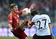 Fussball Bundesliga 2012/13: Bayern Muenchen - Eintracht Frankfurt