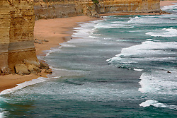 AUSTRALIA VICTORIA GREAT OCEAN ROAD 10FEB08 - View of the beach and surf near the Twelve Apostles, one of Australia's famous landmarks...jre/Photo by Jiri Rezac..© Jiri Rezac 2008..Contact: +44 (0) 7050 110 417.Mobile:  +44 (0) 7801 337 683.Office:  +44 (0) 20 8968 9635..Email:   jiri@jirirezac.com.Web:    www.jirirezac.com..© All images Jiri Rezac 2007 - All rights reserved.