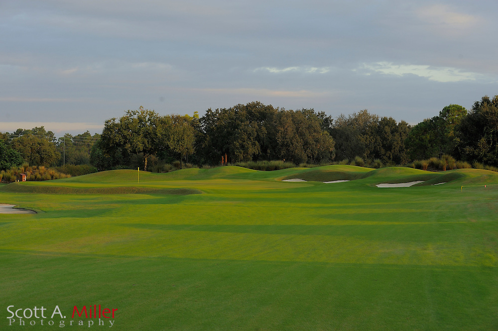 The 5th hole on the North Course at Grand Cypress on Oct. 20, 2010 in Orlando, Florida.....©2010 Scott A. Miller