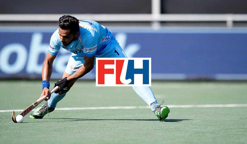 BREDA - Rabobank Hockey Champions Trophy<br /> The Netherlands - India<br /> Photo: Harmanpreet Singh.<br /> COPYRIGHT WORLDSPORTPICS FRANK UIJLENBROEK