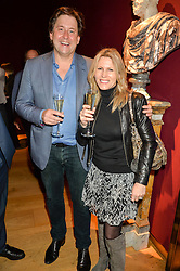 JAMES CORSELLIS and DR SAMANTHA CORSELLIS at a lecture featuring Don McCullin talking on War and Peace with Kate Silverton in aid of TUSK at Christie's, 8 King Street, London on 9th December 2015.