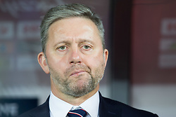 October 11, 2018 - Chorzow, Poland - Coach Jerzy Brzeczek (POL) during the UEFA Nations League A group three match between Poland and Portugal at Silesian Stadium on October 11, 2018 in Chorzow, Poland. (Credit Image: © Foto Olimpik/NurPhoto via ZUMA Press)