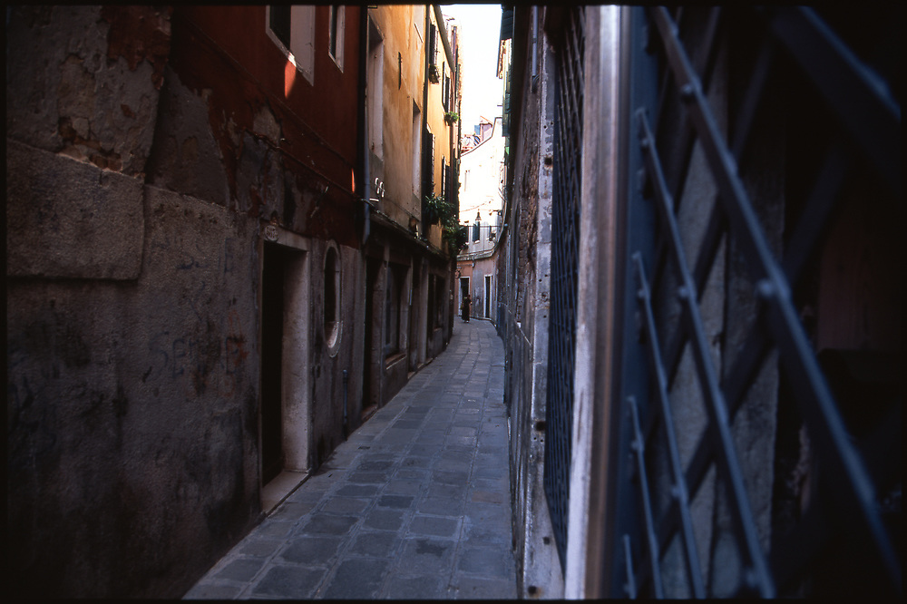 Narrow Alley, Venice, Italy