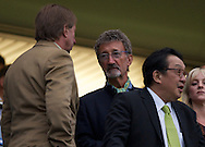 Picture by Alan Stanford/Focus Images Ltd +44 7915 056117.08/05/2013.Formula one supremo Eddie Jordan during the Barclays Premier League match at Stamford Bridge, London..