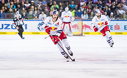 09.04.2019, Eisarena, Salzburg, AUT, EBEL, EC Red Bull Salzburg vs Vienna Capitals, Halbfinale, 6. Spiel, im Bild Thomas Raffl (EC Red Bull Salzburg) // during the Erste Bank Icehockey 6th semifinal match between EC Red Bull Salzburg vs Vienna Capitals at the Eisarena in Salzburg, Austria on 2019/04/09. EXPA Pictures © 2019, PhotoCredit: EXPA/ JFK