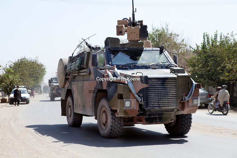 Dutch military on patrol in Kunduz, Afghanistan