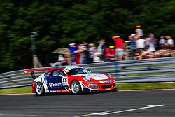 Dino Zamparelli finishes in 3rd | GT Marques | #88 Porsche 911 GT3 Cup | Porsche Carrera Cup GB | Race 2 - Mandatory byline: Rogan Thomson/JMP - 05/06/2016 - MOTORSPORT - Oulton Park Circuit - Little Budworth, England - BTCC Meeting Day 2.