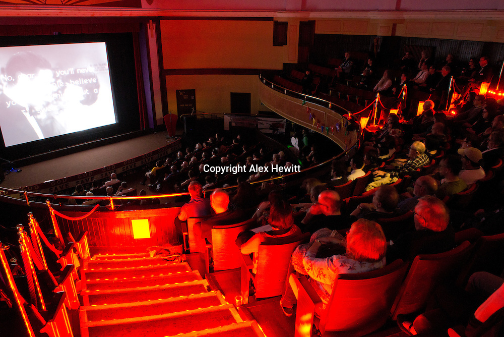 The Hippodrome Festival of Silent Cinema <br /> Wednesday 18th March - Sunday 22nd March 2015.<br /> <br /> Friday night gala screening of Synthetic Sin. Musical accompaniment by Neil K Brand. Friday 20th March<br /> <br /> Picture by Alex Hewitt